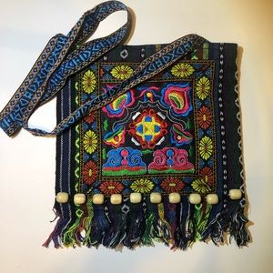 Handbags - Festival Boho Crossbody Bag Embroidered